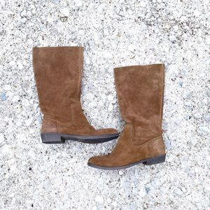 NINE WEST vintage American collection cognac boots